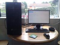 cheap quad core , gainward gpu , 1tb hdd pc setup