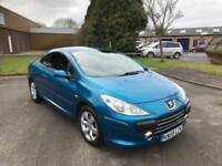2006 Peugeot 307cc 12 months mot/3 months parts and labour warranty