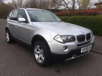 BMW X3 2.0 DIESEL , SE , NEW MOT , 2008 (58 reg) , 4X4