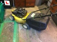 3.75 hp self drive petrol lawnmower