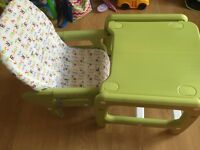 Baby &Toddler high chair 3in1
