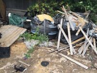 FIRE FENCE GARDEN WOOD SCRAP FREE FOR COLLECTION