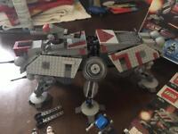 Lego Star Wars 7675 captain Rexs AT-TE Walker
