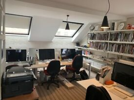 Chelsea Lots Rd boutique office interior designed 370SqFT with balcony