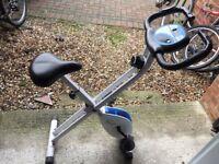 Exercise bike indoor