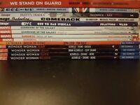 Trade paperback comics (DC, Marvel, Image)