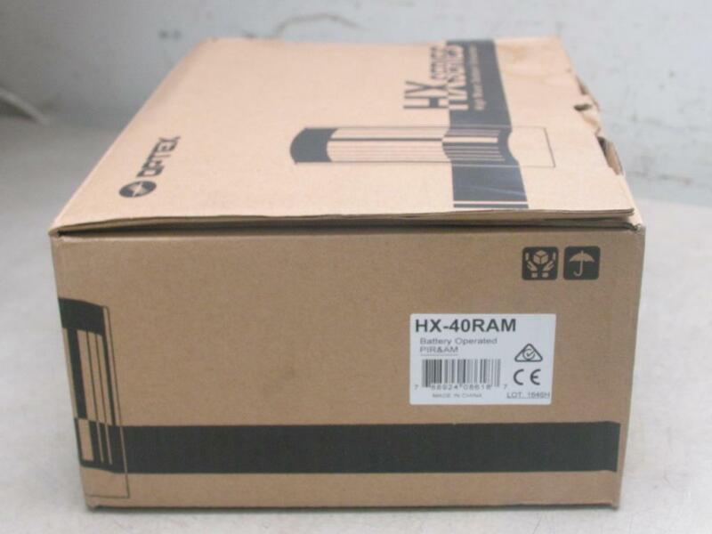 OPTEX HX-40RAM Outdoor Wireless PIR Sensor With Anti-Masking Technology