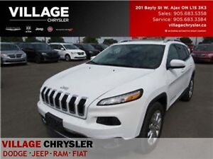 2016 Jeep Cherokee Limited 4x4 Nav leather Pansunroof Remote