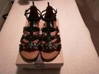 Clarke's gladiator sandals