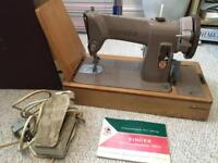 Singer Sewing Machine 185k 1958
