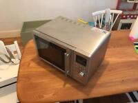 Delonghi stainless steel microwave