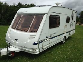 sterling Cullen 4 berth 2005 end wash room cassete toilet shower hot and cold running water 3 way