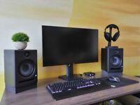 Dell S2719DGF 27 Inch QHD 2560x1440 Gaming Monitor, 144 Hz, 1 ms, AMD FreeSync