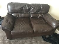 Pair of 2 seater sofas for free