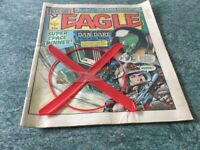 EAGLE COMIC WITH FREE GIFT. 1983