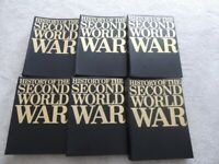 1966 - Purnell's History Of The Second World War Volumes in 6 Binders - 2240 pages
