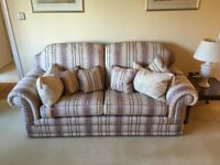 Elegant 3 piece suite - As new condition cost £4500