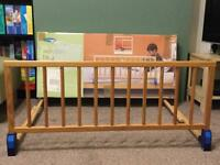 Mothercare Wooden Fold-Away Bed Guard