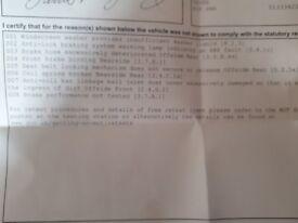 Ford Mondeo 51 spare/repair