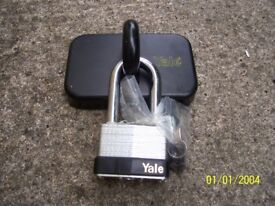 Yale Ground Anchor and padlock