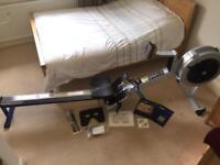 Concept 2 Model D rowing machine PM3