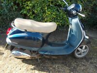 VESPA PIAGGIO 50CC SCOOTER 2012 MOT SEP 18 STARTS FIRST TIME VERY SOLID MADE VERY RELIABLE ENGINE
