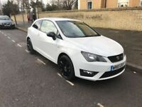 65 PLATE SEAT IBIZA FR TSI 1.4 WHITE BLACK EDITION CAT D 19,000 MILES ONLY EXCELLENT CONDITION
