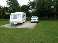 Elddis 4-berth caravan, 1990,many accessories including full awning and cover. Dry, warm, tows well.