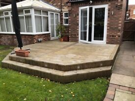 Used Wooden Decking