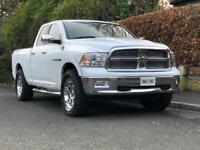 Dodge RAM 1500. Laramie. 5.7L HEMI V8. Full service history. 2 previous owners. 34,000 miles. White.