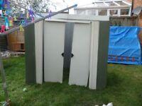 6x4 tin shed