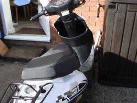 Brand new Moped Registered v5