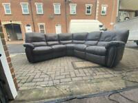 corner sofa el. recliner Delivery available