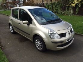 Renault Modus 1.5 dCi Expression, 6 MONTHS FREE WARRANTY, DVD PLAYER, FULL SERVICE HISTORY,
