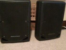 """8"""" American Audio Speakers XSP8's passive"""