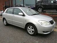 2002 Toyota Corolla 2.0 D-4D T3 5dr Hatchback, Warranty & Breakdown Cover Available, £995