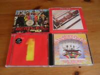 the beatles 4 cd albums
