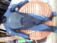 wetsuits, sizes MT, LS and M