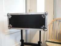 "4U 19"" Rack Mount Flight Case STRONG PLYWOOD"