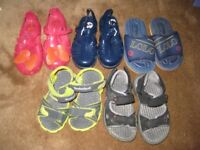 Four Pairs of Children's Sandals- £2.00 each pair or 4 Pairs for £7.00