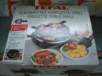 TEFAL Raclette Grill (new - never opened)