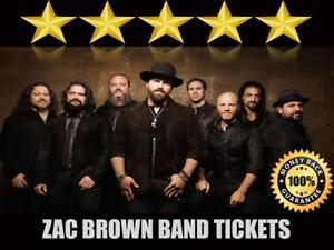 Discounted Zac Brown Band Tickets | Last Minute Delivery Guaranteed!