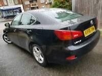 Lexus IS220D diesel reverse Camera 2007 SatNav low mileage 107k parking sensors part /exchange