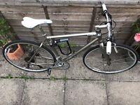 Mens Large Charge Scourer Hybrid Bike