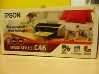 Epson Stylus C46 printer (photos web and graphic printing, up to 2880dpi, 12ppm, USB)