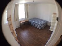 Bright big double room to let in Hackney at Broadway Market (BILLS INCLUDED, fun flatmates)