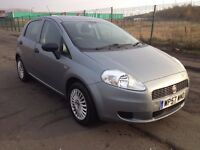 57 fiat grande punto active 1.2,MOT-November 2017,only 39,000 miles,full service history,fiesta,clio