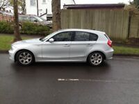 BMW 1 Series 57 plate 58500 miles, mot July 2017