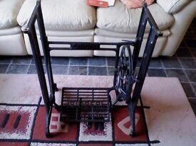antique singer sewing machine base, very good