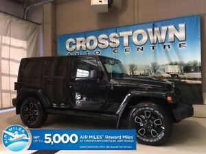 2018 Jeep Wrangler Sahara | NAV | 5-Speed Auto | Black Leather |